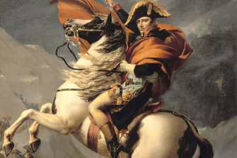 Napoleon rode his horse Marengo on several victorious battles including Waterloo.