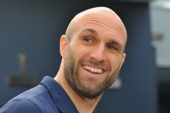 Carlton football director and board member Chris Judd.