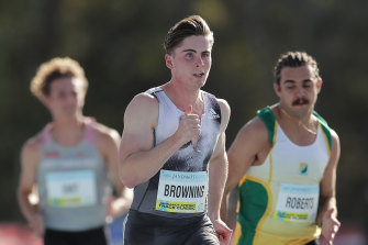 Rohan Browning issued a warning to his competitors on Saturday.