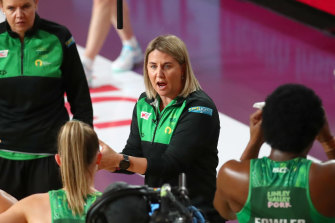 Marinkovich will coach her first game with the Diamonds on Tuesday.