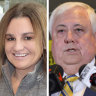 Jacqui Lambie resurrects political career as Clive Palmer tanks