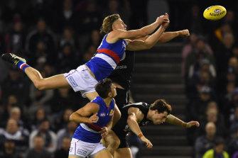 Aaron Naughton flies.