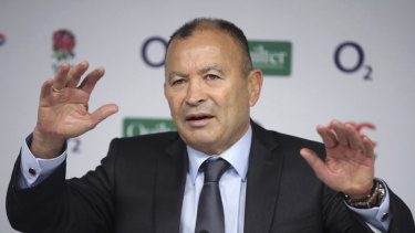 Back off: Eddie Jones says he had to distance himself from the 'coach whisperer'.