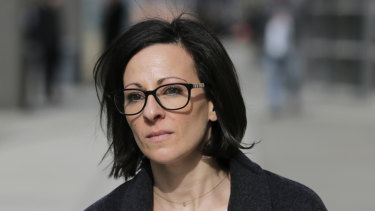 Lauren Salzman testified against self-help guru Keith Raniere.
