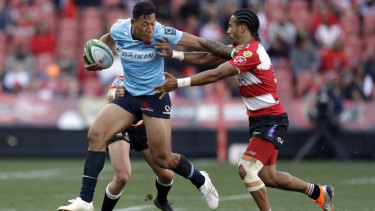 There is no finer sight in Super Rugby than Waratahs flyer Israel Folau in the clear.