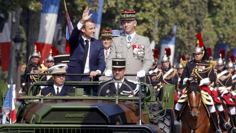 Emmanuel Macron: France's gaudiest president?