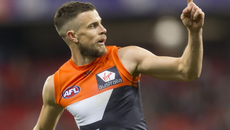 The Giants will likely be without star midfielder Brett Deledio on Saturday.