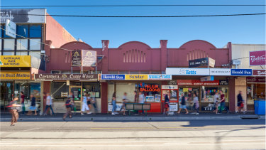 A Melbourne-based Malaysian investor bought these three shops in Riversdale Road for $4.65 million.
