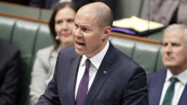 Josh Frydenberg, unveiling his first budget, talked up the economy's chances. Things have changed since then.