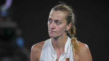 Petra Kvitova testified in court less than two weeks after playing in the Australian Open final.