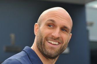 Carlton football director and board member Chris Judd.