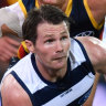 New rule helping Dangerfield hit new heights, Geelong coach says
