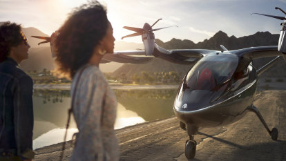 Airlines set to put billions into flying taxis