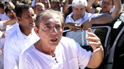 Brazilian spiritual healer 'John of God' jailed for rapes