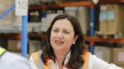 Palaszczuk rejects report Labor 'illegally' shared electoral roll with unions