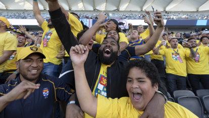 Shute Shield final crowd decreases 40 per cent as SRU boss labels move west a success