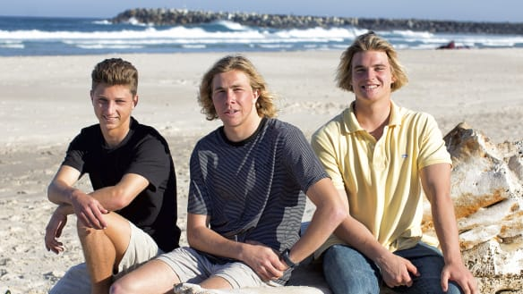 'I saw the shark's head behind Cooper': How two boys saved their mate