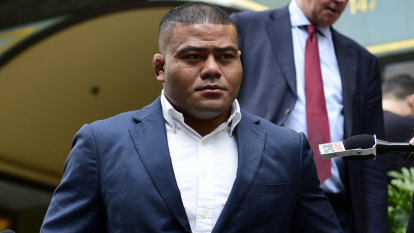 Tolu Latu suspended and fined by Rugby Australia