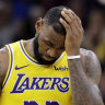 Losing Lakers wearing thin on LeBron