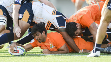 The Jaguares proved too strong for the Brumbies at Canberra Stadium on Sunday.