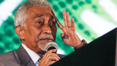 East Timorese caretaker Prime Minister Mari Alkatiri.