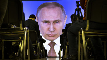 Putin: big election win, big economic problems.
