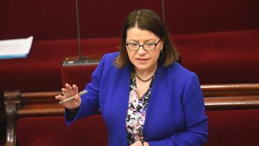 Former Health Minister Jenny Mikakos