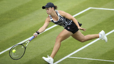 Ash Barty's star continues to rise.