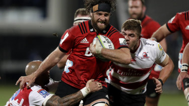 Last teams standing: The 2018 Super Rugby final was a re-match between the Lions and Crusaders.