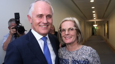 Malcolm and Lucy Turnbull have told David Sharma they will support his preselection.