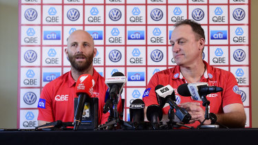 Jarrad McVeigh appears to be up against it in his bid to play one final match before his AFL retirement.