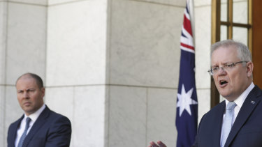 Treasurer Josh Frydenberg and Prime Minister Scott Morrison revealed a second stimulus package on Sunday.