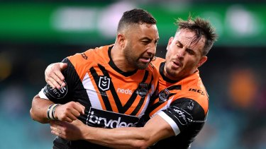 Wests Tigers co-captain Benji Marshall.