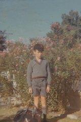Tony O'Connor in grade five.
