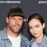 Campaign models Nick Youngquest and Luma Grothe.