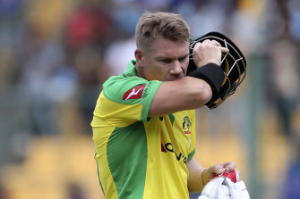 "David Warner is back in South Africa for the first time since ""Sandpapergate""."