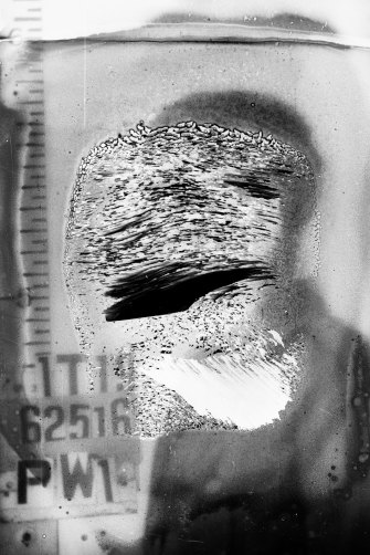 This cellulose nitrate negative of Italian POW Giuseppe Raimondi is an example of the challenges facing the National Archives.