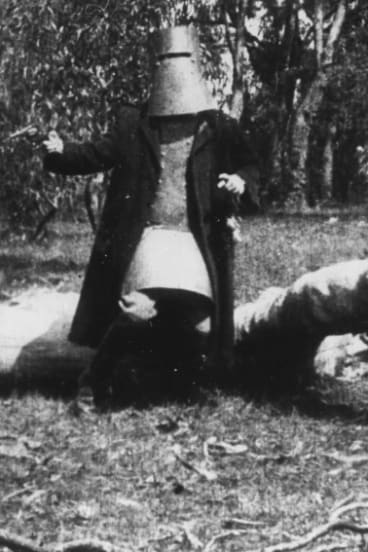 A scene from <i>The Story of the Kelly Gang</i> (1906), one of the first feature films ever made.