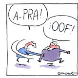 APRA's action against IOOF in a nutshell. Illustration: Matt Golding
