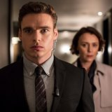Richard Madden and Keeley Hawes in Bodyguard.