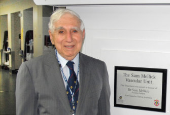 A ward at the Princess Alexandra Hospital is named after Dr Sam Mellick.