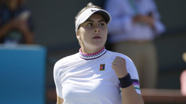 Canada's Bianca Andreescu had a scorching win at Indian Wells.