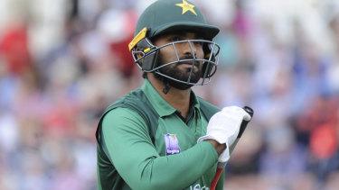 Pakistan's Asif Ali, during their tour of England.