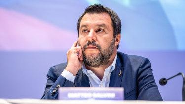 Italy's Deputy Prime Minister Matteo Salvini.
