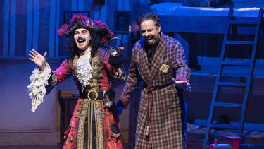 Connor Crawford as Captain Hook, and Luke Joslin.