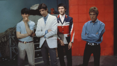 From left, Keith Moon, Pete Townshend, John Entwhistle and Roger Daltrey of The Who in 1965.