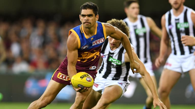 The Lions' recruitment of Charlie Cameron hasn't been able to lift their start to the season, despite his good form.