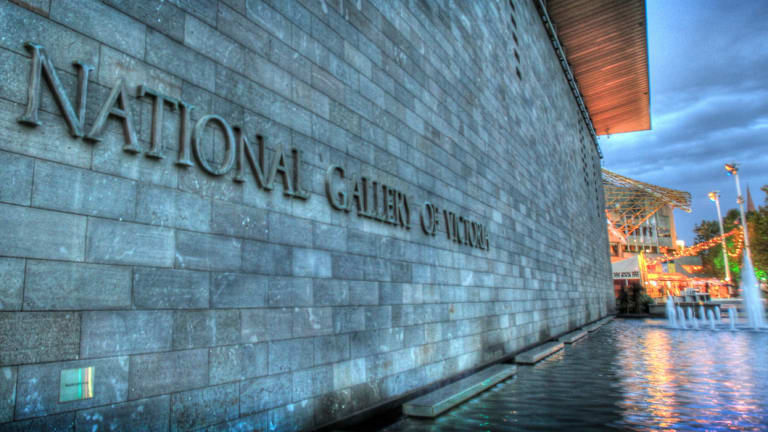 The National Gallery of Victoria.