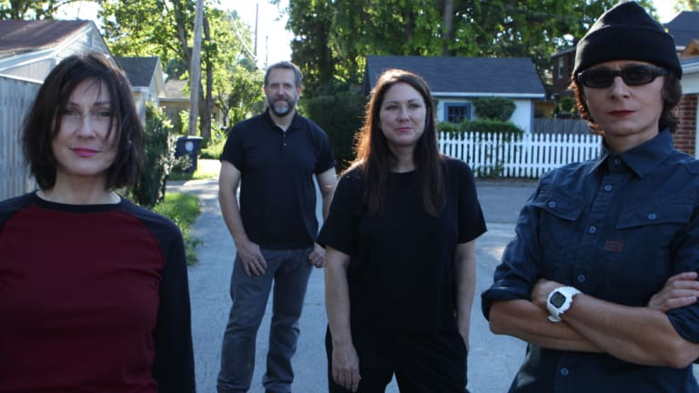 The Breeders are back with (from left) Kelley Deal, Jim Macpherson, Kim Deal and Josephine Wiggs starting their Australian tour this month.