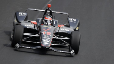 Australia's defending champion Will Power finished fifth.